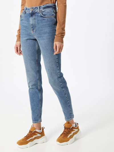 PIECES Jeans 'Delly' in blue denim: Frontalansicht