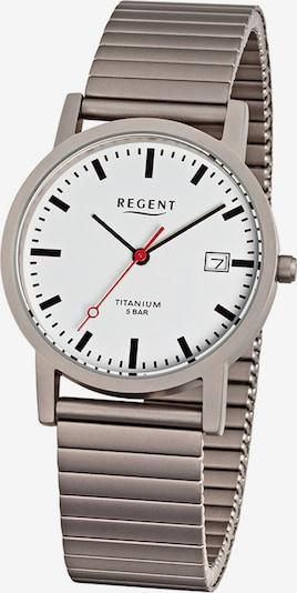 REGENT Uhr in grau, Produktansicht