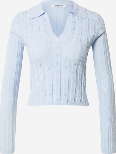 Marškinėliai iš GLAMOROUS, spalva – šviesiai mėlyna, Prekių apžvalga