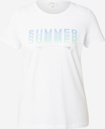 s.Oliver Shirt in White