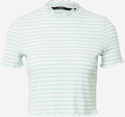 VERO MODA Majica 'ARIA' u žad / prljavo bijela, Pregled proizvoda