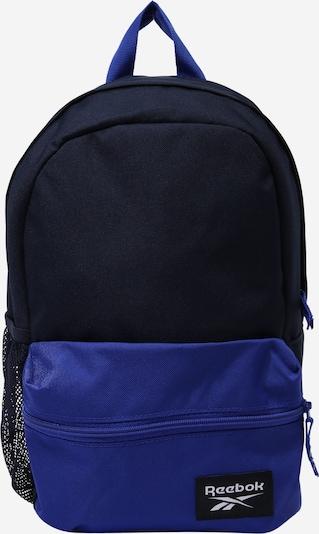Reebok Sport Sac à dos de sport en bleu roi / bleu foncé, Vue avec produit