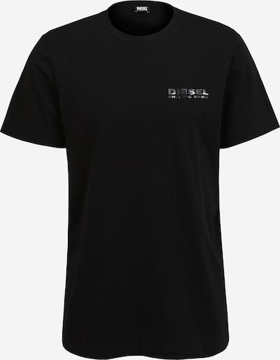 Marškinėliai iš DIESEL, spalva – pilka / juoda / balta: Vaizdas iš priekio