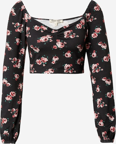 ABOUT YOU Shirt 'Simona' in schwarz, Produktansicht