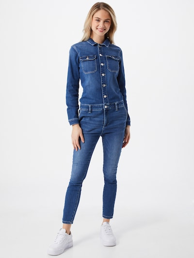 ONLY Jumpsuit 'CALLI' in blue denim, Modelansicht