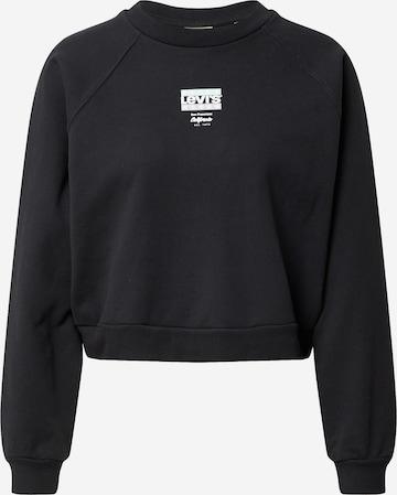 LEVI'S Sweatshirt i svart