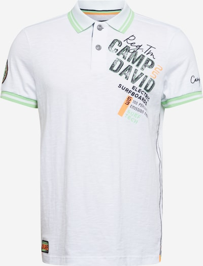 CAMP DAVID T-shirt i vit, Produktvy