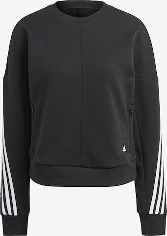 ADIDAS PERFORMANCE Sweatshirt in Schwarz