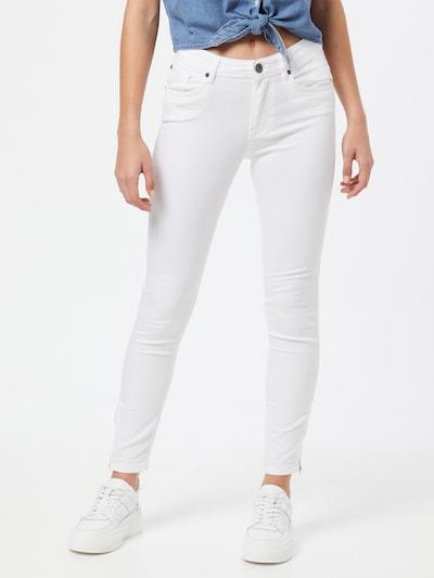 PULZ Jeans Jeans 'Emma' in weiß, Modelansicht