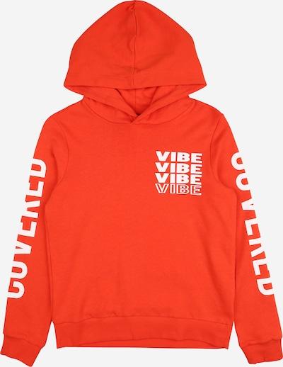 LMTD Sweatshirt in orangerot / weiß, Produktansicht