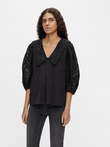 OBJECT Bluse 'Kamille' i svart