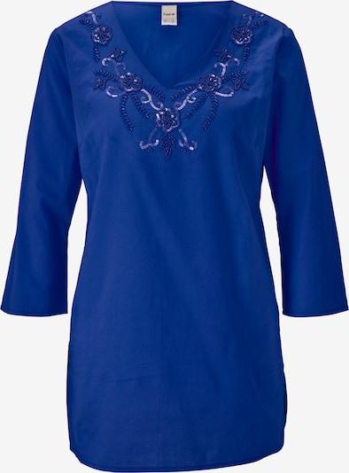 Tunica heine pe albastru royal, Vizualizare produs