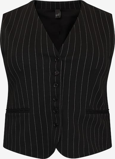 Yoek Weste in schwarz / weiß, Produktansicht