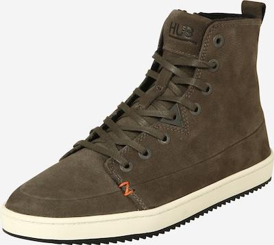 Suvarstomieji kulkšnis dengiantys batai iš HUB , spalva - ruda, Prekių apžvalga