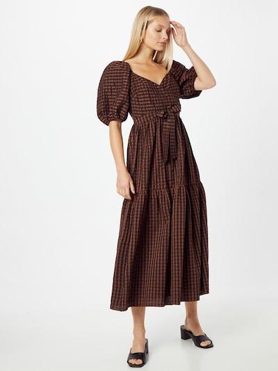 River Island Kleid in braun / dunkelbraun, Modelansicht