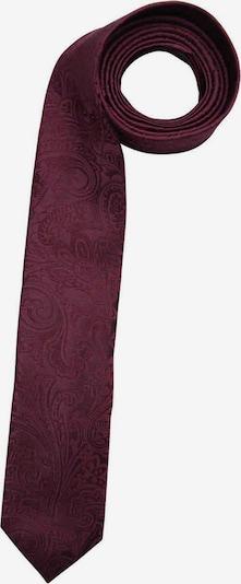OLYMP Krawatte in rotviolett, Produktansicht