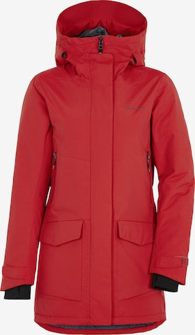 Didriksons Performance Jacket 'FRIDA WNS PARKA 5' in Red