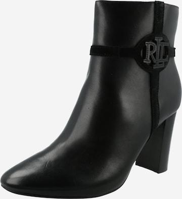 Bottines 'MARLEIGH' Lauren Ralph Lauren en noir