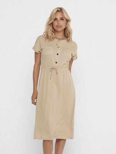ONLY Kleid 'Noma' in camel, Modelansicht