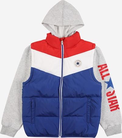 CONVERSE Přechodná bunda 'ALLSTAR' - modrá / šedá / červená / bílá, Produkt