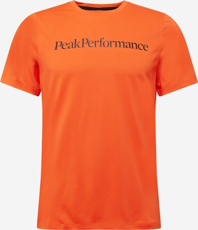 PEAK PERFORMANCE Camiseta funcional 'Alum Light' en rojo anaranjado / negro, Vista del producto