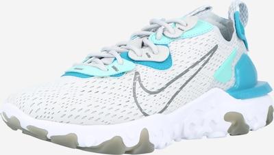 Nike Sportswear Ниски маратонки 'REACT VISION' в тюркоазен / сиво / светлосиво, Преглед на продукта