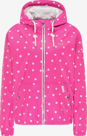 MYMO Tussenjas in de kleur Pink / Wit, Productweergave