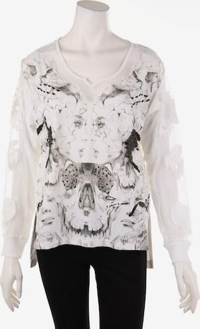 Mandarin Top & Shirt in S in White
