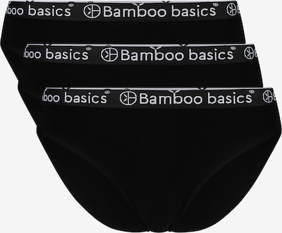 Bamboo basics Slip in schwarz / weiß, Produktansicht