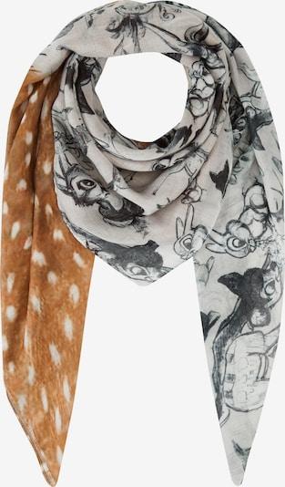 CODELLO Tuch 'Bambi' in braun / grau / weiß, Produktansicht