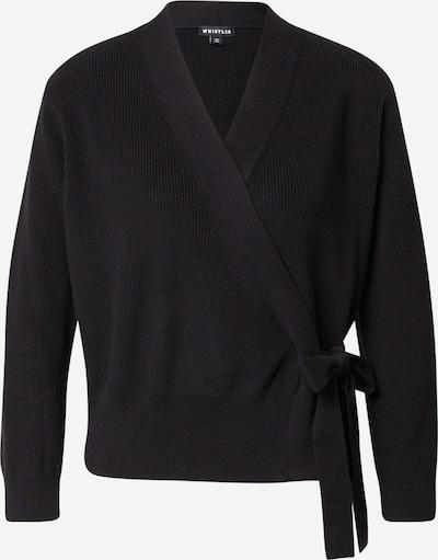 Geacă tricotată Whistles pe negru, Vizualizare produs