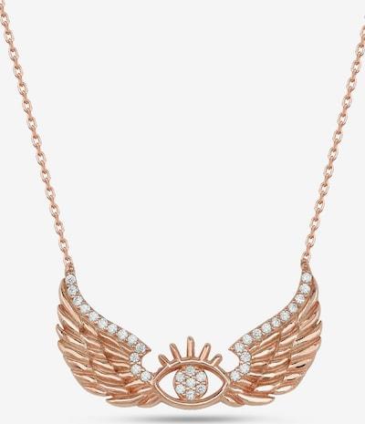 Dkeniz Silberkette Nazar Wings Kette in rosegold / pink / rosé, Produktansicht