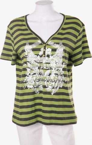 Basic Line Top & Shirt in XXL-XXXL in Green