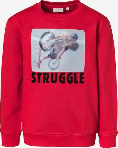 myToys-COLLECTION Sweatshirt in rot / schwarz / weiß, Produktansicht