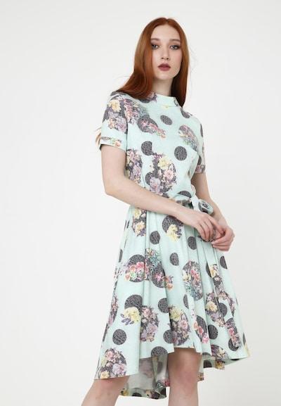 Madam-T Sommerkleid 'SAMBRA' in grün, Modelansicht