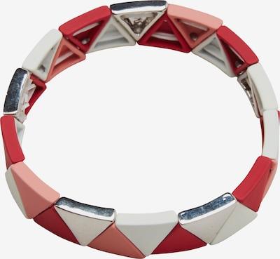 s.Oliver Bracelet en rouge / blanc, Vue avec produit