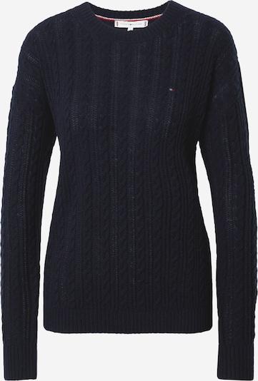 TOMMY HILFIGER Pullover in dunkelblau, Produktansicht