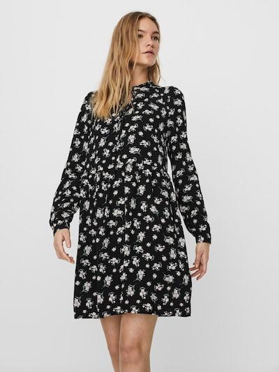 VERO MODA Kleid in pastellgrün / pastellpink / schwarz / weiß, Modelansicht