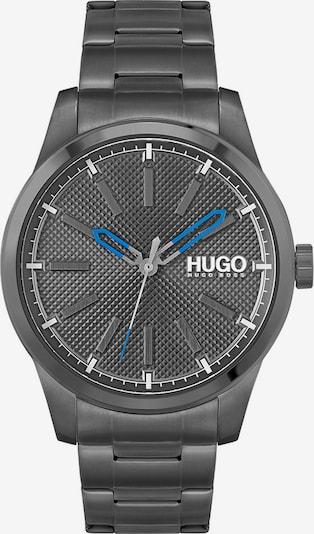 HUGO Analoguhr in blau / grau, Produktansicht