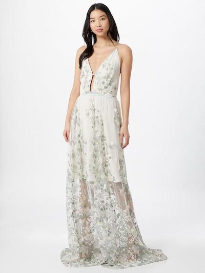 True Decadence Kleid in mint / hellgrün / weiß, Modelansicht