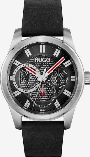 HUGO Аналогов часовник в черно / сребърно, Преглед на продукта