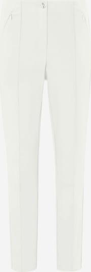 Fadenmeister Berlin Knöchellange Hose in weiß, Produktansicht