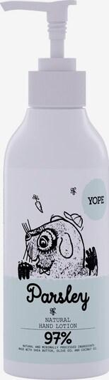 Yope Handcreme 'Parsley' in weiß, Produktansicht