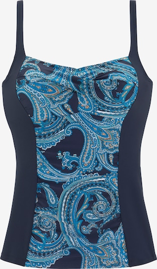 LASCANA Tankini top in Blue / Gentian / Orange / White, Item view