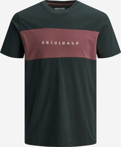 JACK & JONES Shirt in Wine red / Black / White, Item view