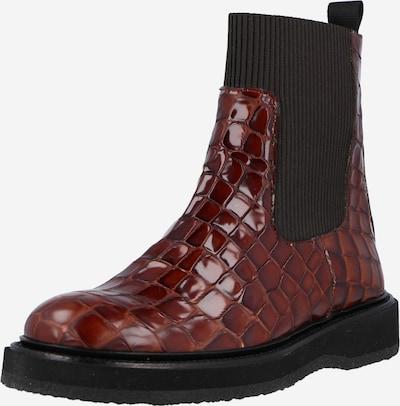 ANGULUS Chelsea Boots in kastanienbraun / schwarz, Produktansicht