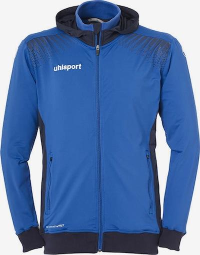 UHLSPORT Sportjacke in royalblau / schwarz / weiß, Produktansicht