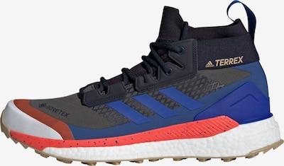adidas Terrex Wanderschuh in blau / rot / schwarz, Produktansicht