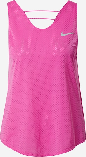 NIKE Sport-Top 'Breathe' in pink / rosa: Frontalansicht