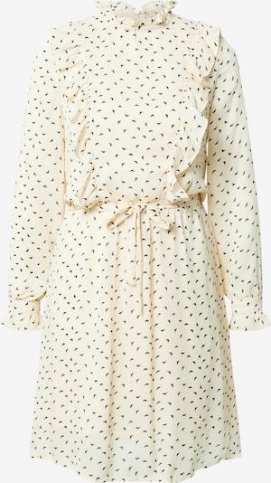 ICHI Košulja haljina u crna / vuneno bijela, Pregled proizvoda